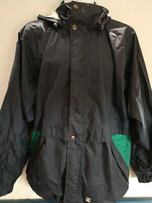 K.WAY 2000 Waterproof Rainjacket Rain Wind Windbreaker Vintage Jacket Large