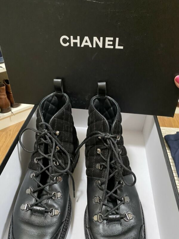 Mens Chanel Boots Size 43