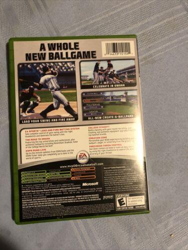 MVP 06 NCAA Baseball Microsoft Xbox, 2006  - $18.00