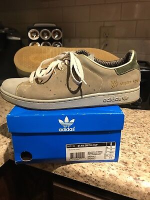 2008 Adidas Stan Smith X Aesop Rock X Upper Playground size 13.5 only 500 made!