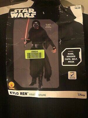 Star Wars Adult Kylo Ren Costume, Large