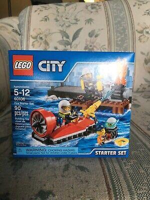 LEGO City Fire Starter Set (60106) 90 pcs