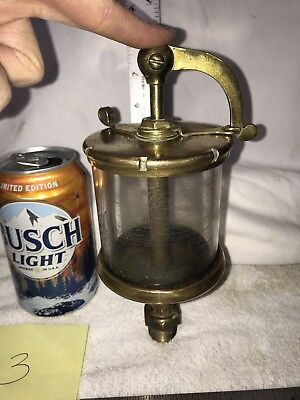 Lunkenheimer Crown No. 5 Swing Top Oiler Lubricator Hit Miss Gas Engine Steam