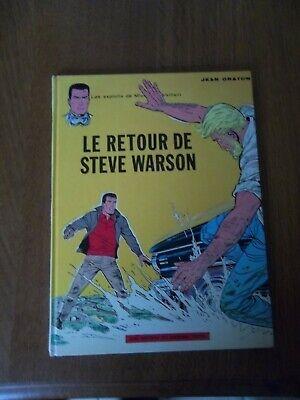 Les exploits de Michel Vaillant:Le retour de Steve Warson-T9b-C-RE-1972