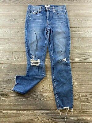 Paige Jeans Hoxton Ankle Light wash Womens Size 27