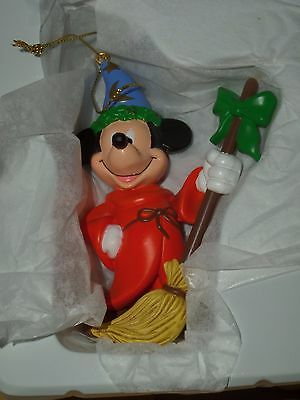 DISNEY PRESIDENT'S EDITION FANTASIA MICKEY MOUSE CHRISTMAS ORNAMENT
