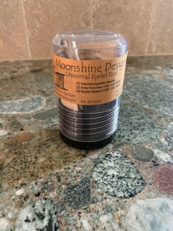 MOONSHINE DESIGN Universal Eyelet Tool Made In The USA Brand New