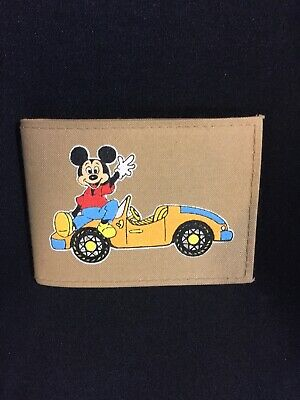 "DISNEY ""MICKEY MOUSE"" VINTAGE MOUSE POWER WALLET"