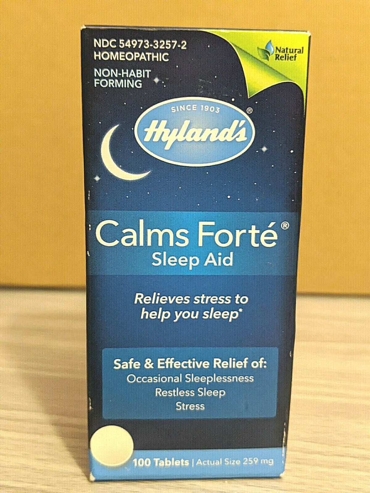 Calms Forte for Adults 100 tabs by Hyland's