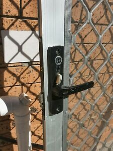 Security screen door (triple lock) | Building Materials ...