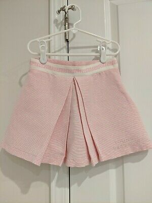 Young Versace pink striped skirt