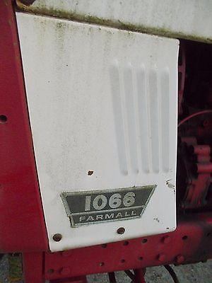 International 1066 Tractor Original Ih Ihc Front Left Radiator Side Panel