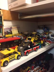 Tons of lego