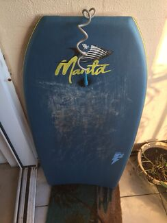 "Manta Phantom Bodyboard 43"" with 4Play bicep leash"