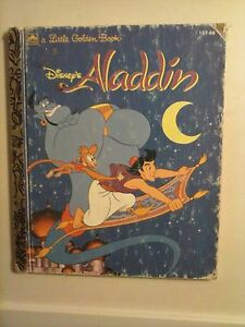 aladdin golden book original publishing date