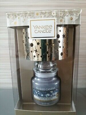 Yankee Candle Holiday lights... Small Jar con paralume