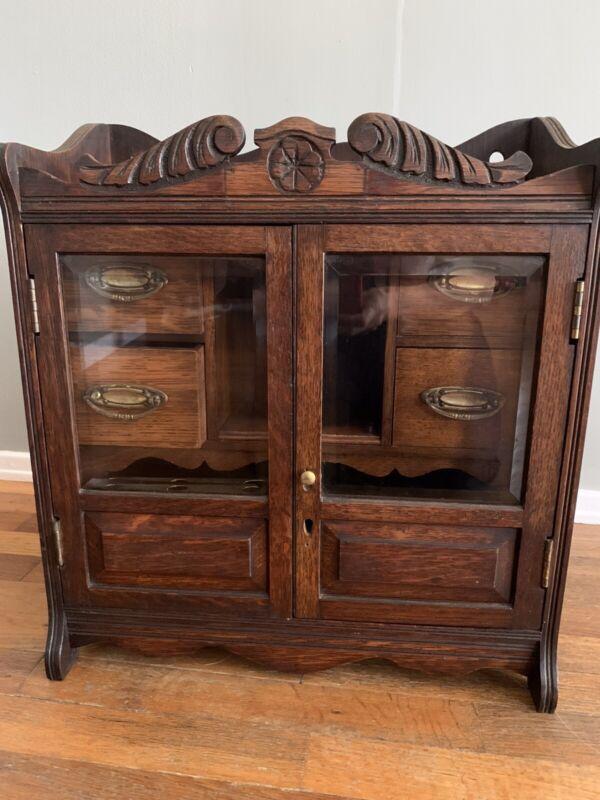 Antique/vintage Pipe Cabinet