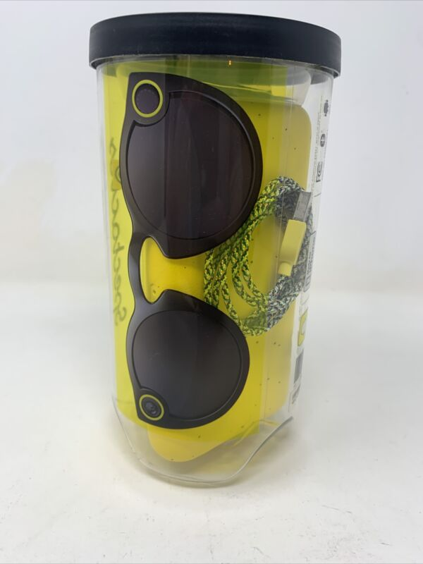 Snapchat Spectacles W/ Carrying Case & Charging Cable
