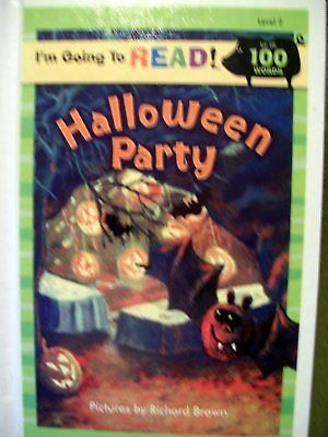 I'M GOING TO READ HALLOWEEN PARTY RICHARD BROWN 2007 HARDCOVER