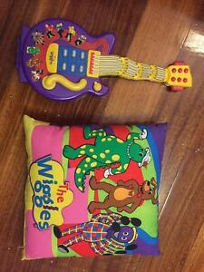 Wiggles Guitar And Cushion Very Good Condition Guitars Amps