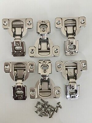 """6 Liberty face frame soft close cabinet door hinges 5/8"""" overlay  for sale  Naples"""