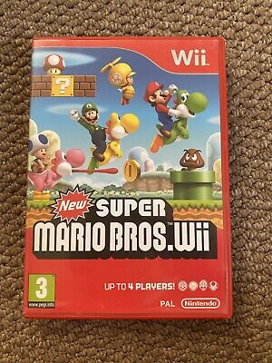 Nintendo Wii - New Super Mario Bros Wii game (Boxed)