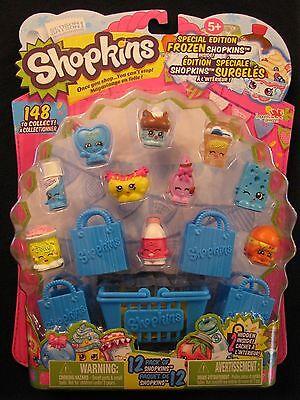 Season 1, Shopkins Special Edition Frozen 12 Pack of Shopkins, Ice Cream Dream