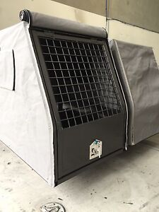 CLEARANCE SALE AUS MADE UTE DOG CAGES WITH CANVAS COVER Currans Hill Camden Area Preview