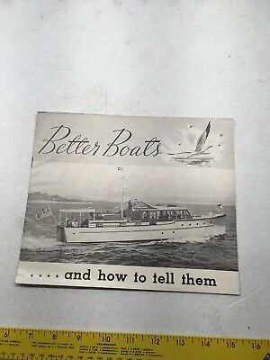AD SPECS CHRIS CRAFT BOAT BROCHURE 15PAGE 1940 BETTER BOAT DESIGN CRUISERS ELCO