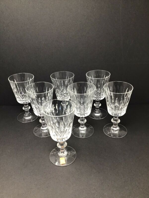 Hawkes Mallory Wine/Water Glasses (7)