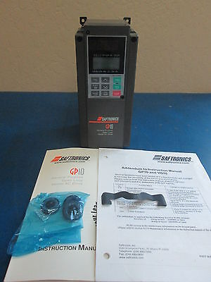 Saftronics Gp10 General Purpose Open Loop Bector Ac Drive Invertor With Manual