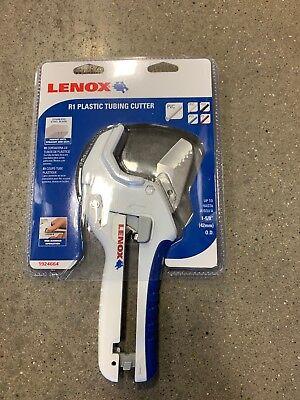 New Lenox R1 Ratcheting Plastic Tubing Cutter 1-58 - Pvc Cpvc Pex Poly Pb