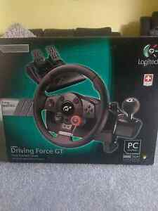Logitech Driving Force GT PC/PS3 Race Wheel Richmond Hawkesbury Area Preview
