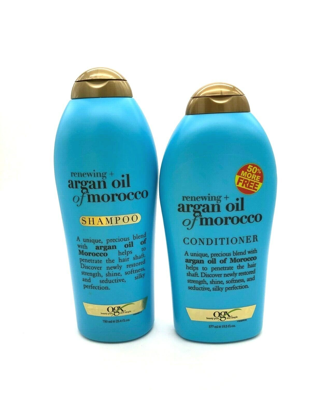 OGX Renewing Moroccan Argan Oil Shampoo & Conditioner Value