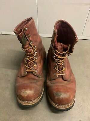 Red Wing Irish Setter Work Boots Men's 11D Brown