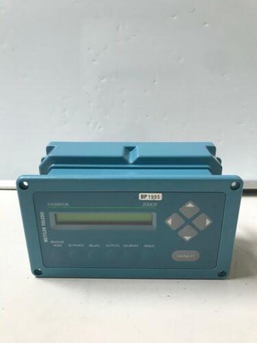 Mettler Toledo Thornton 200CR Conductivity/Resistivity Measurement System