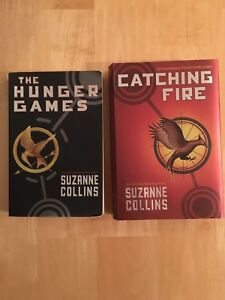 The Hunger Games & Catching Fire Books