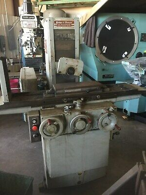 Brown Sharpe Micromaster 618 Surface Grinder 6x18 Coarse Pole Mag Chuck