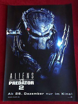 Aliens vs Predator 2 Kinoplakat Filmplakat A1 Poster Predator