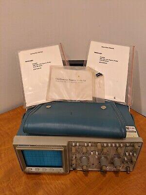 Tektronix 2221a 100 Mhz 2ch Digital Storage Oscilloscope