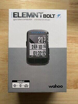 Wahoo Fitness ELEMNT BOLT GPS Bike Computer - (WFCC3B)
