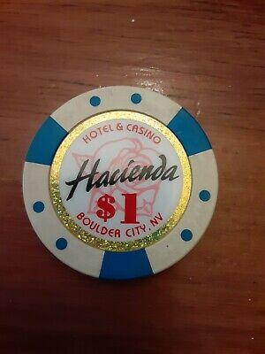 $1 Casino Chip from Hacienda Hotel and Casino in Boulder City, Nevada