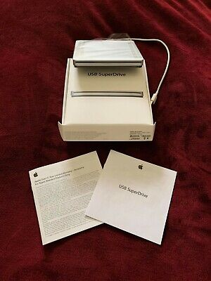 Apple USB SuperDrive DVD Re-Writer - Silver A1379