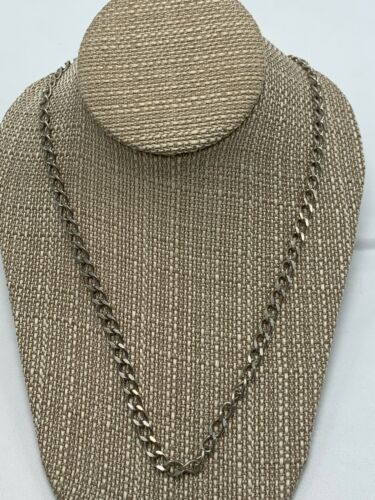 """STERLING SILVER ~ LINK~ CHAIN (22"""")"""