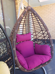 Tea drop hanging egg pod chair Adelaide! Holden Hill Tea Tree Gully Area Preview