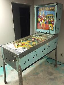1950's Pinball Machine