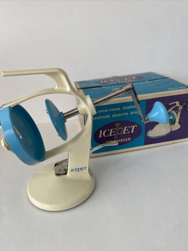 Vintage Icepet Deluxe Ice Shaver