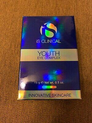 iS Clinical Youth Eye Complex 0.5oz/15ml NIB exp 09/2022 FREE shipping