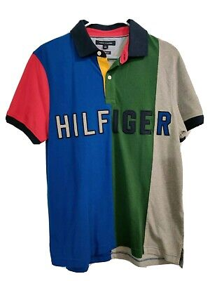 Men's Tommy Hilfiger Short-Sleeve Wicking Performance Pique Polo Shirt size M