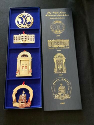 White House Historical Association Ornament Set Collection